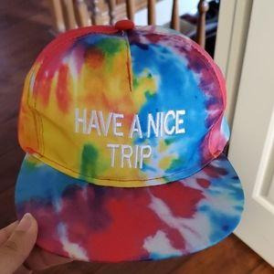 """HAVE A NICE TRIP"" SNAPBACK"